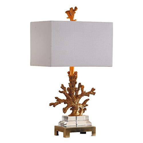 Einfache Moderne Kreative Koralle Kristall Dekorative Tischlampe Schlafzimmer Nachttischlampe Europäischen Wohnzimmer Amerikanische Studie Modell Raum Met Love -