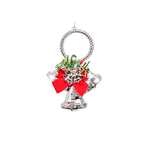 Ivo Ryan Weihnachten Vorhang Schnalle, Halter Clip Schnalle Raffhalter Dekorationen Ornament für Wohnzimmer Schlafzimmer Dekoration (Silber)
