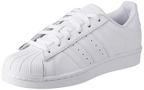 adidas Originals Superstar, Zapatillas Unisex Adulto, Blanco (Footwear White/Footwear White/Footwear White), 38 2/3 EU