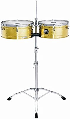 Meinl Percussion LC1BRASS - Timbales (14