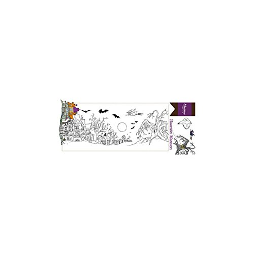 Marianne Design Clear Stamps Hettys Border Haunted Mansion, -