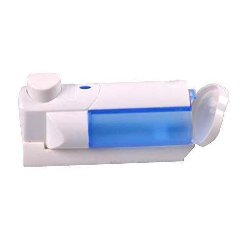B Blesiya 210ml Seifenspender aus Kunststoff inkl. Tropfschale Hygienischer Eurospender, Desinfektionsmittelspender für Praxis und Zuhause