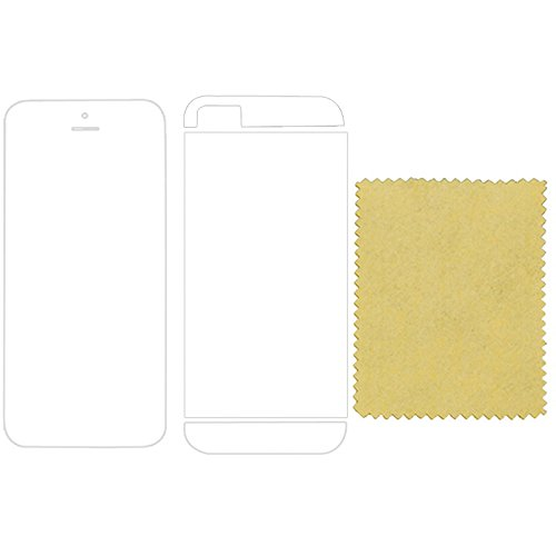 "thesmartguard ""Privacy Protection d'écran (avant) pour iPhone 5/5 C/5S Schutzfolie - Vorder + Rückseite"