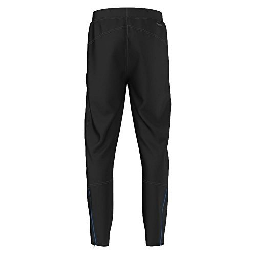 adidas Boys' Trousers (BK1006_Black, White and Shock Blue S16_15 - 16 years)