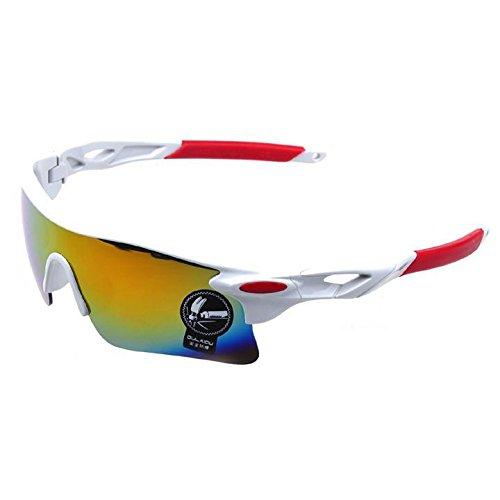 Ncient Gafas Ciclismo Hombre Montaña UV 400 a Prueba de Viento de los Hombres para Montar a Caballo, Campo, Escalada de Montaña, Pesca, Coche, Esquí, Viajes