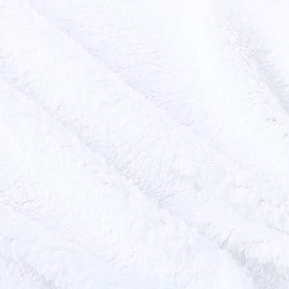 Mitlfuny Invierno Franela Swaddle Wrap Saco de Dormir para Bebé Niños Manto Envolvente Recién Nacido Manta Envolver Toalla de Baño Punto de Onda Manta 0-12 Meses Infantil Mantita Edredón 74 * 100cm
