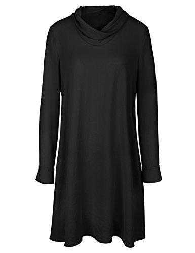 Marc Cain Sports Damen Kleid Schwarz (Black 900)