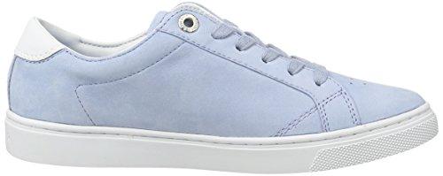 Tommy Hilfiger V1285enus 1n1, Sneaker Basses Femme Bleu (Chambray 022)