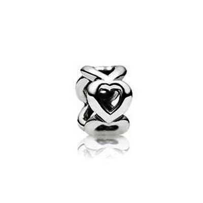 Pandora Silver Open Heart Spacer 790454 by PandoraStyle