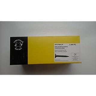 Schraube selbstschneidend phosphatiert schwarz 3,5x 55mm. (1000Stück.)