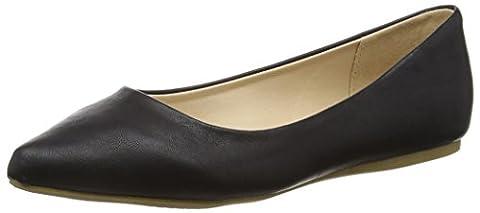 Another Pair of Shoes BeatrisE2, Damen Geschlossene Ballerinas, Schwarz (black01), 42 EU