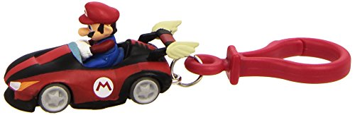 BG Games BPKSMK-01 Mario Kart Wii Portachiavi, Collezione Nintendo (Mario, Luigi, Donkey), Modelli Assortiti