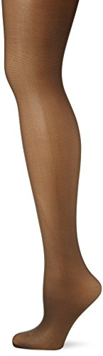 Pretty Polly Damen Strumpfhose 15D Light Support Tights, 15 Den, Black (Barely Black), X-Large (Light Strumpfhose Support)