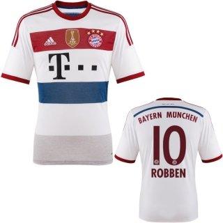 FC Bayern Robben Trikot Away 2015 WC, L