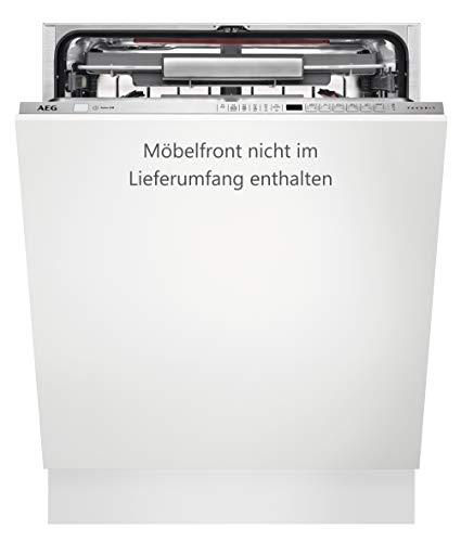 AEG FSE63800P vollintegrierbarer Geschirrspüler / A+++ (234 kWh pro Jahr) / Edelstahl / XXL-Innenraum / Comfort Lift / herausnehmbare Besteckschublade