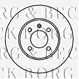 Borg & Beck BBD4037 Bremsscheiben (Paar)