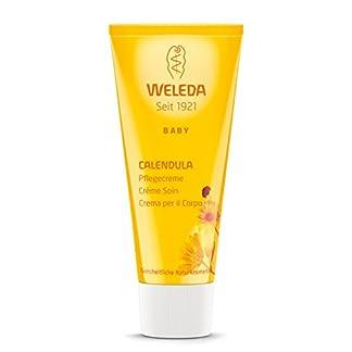Weleda Calendula Baby Cream – Crema hidratante para el cuerpo, 75 ml