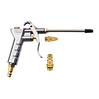 Air Blow Gun Astarye Nozzle Duster Blow Gun Cleaner With An Extension Cleaning Tool Two Airmouths