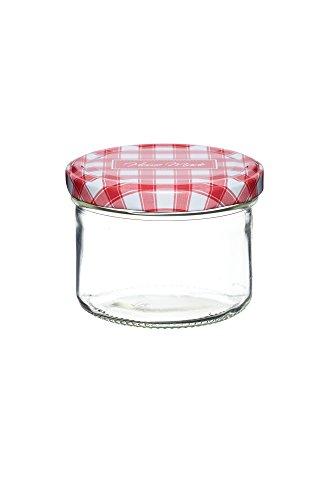 Kitchen Craft Home Made Einmachglas mit Schraubdeckel, 230ml (Food Container Mit Schraubdeckel)