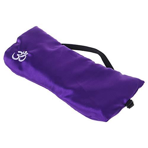 Lergo Lavendel Augenmaske Massage - Relax Augen Yoga Kissen Schlafkissen Aromatherapie Entlastung Ermüdung Patch Reise tragbares Geschenk, 2 -