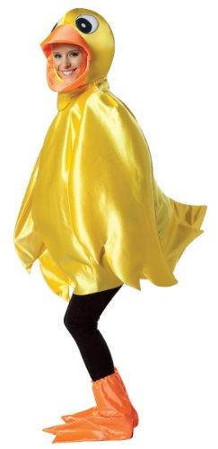Ducky Kostüm Erwachsene Für - Rasta 6512 - gelbes Küken Kostüm - Uni