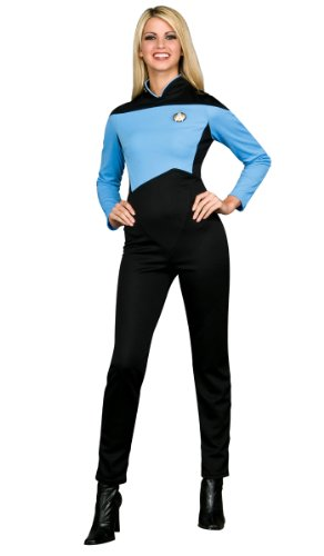 Scientific Kostüm Blue Star Trek The Next Generation Frauen - Medium (Star Trek Schuhe)