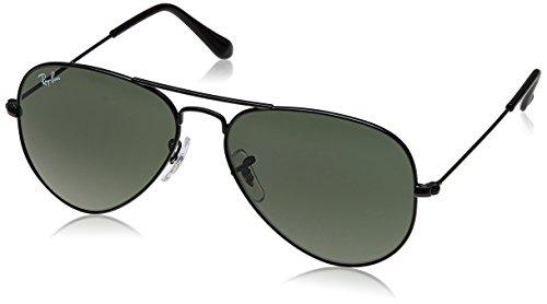 Ray-Ban Aviator Sunglasses (Black) (RB3025|0065/55)