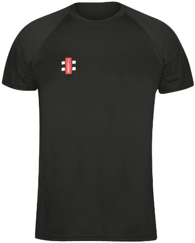 GRAY-NICOLLS Herren Matrix Short Sleeve T-Shirt XX-Small Schwarz Preisvergleich