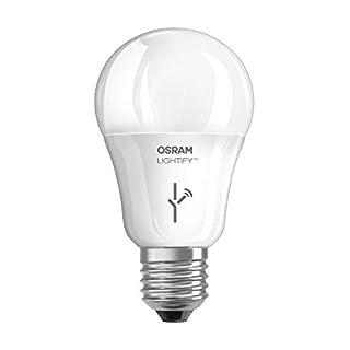 Osram Lightify CLASSIC A LED-Glühlampe Tunable White, Dimmbar, Warmweiß bis tageslicht 2700K - 6500K, Kompatibel mit Alexa