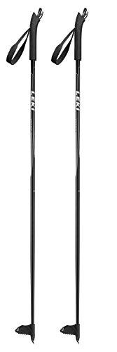 LEKI Vasa Junior Langlauf-Skistöcke 6324904 Black - 105cm -