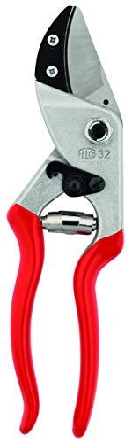 FELCO 32 Einhand-Baumschere / Rebschere / Gartenschere / Amboss-Schere / Baumschere   Klinge aus gehärtetem Stahl, mit gebogenem Amboss, sauberer präziser Schnitt, alle Teile austauschbar