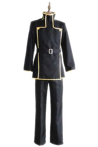 Cosplay Kostüm Geass Lelouch Lamperouge Code - MingoTor Code Geass Lelouch Lamperouge Cosplay Kostüms Japanese Anime Schuluniform Herren L