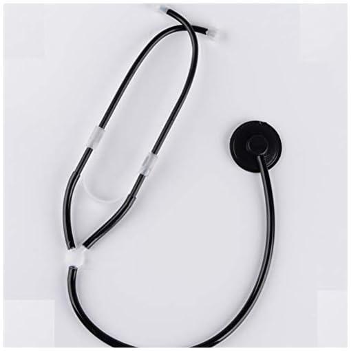 BESTOYARD-Halloween-Stethoskop-Prop-Kinder-Rolle-Spielen-Krankenschwester-Arzt-Chirurg-Cosplay-Zubehr-Halloween-Kostm-Bhne-Prop-schwarz