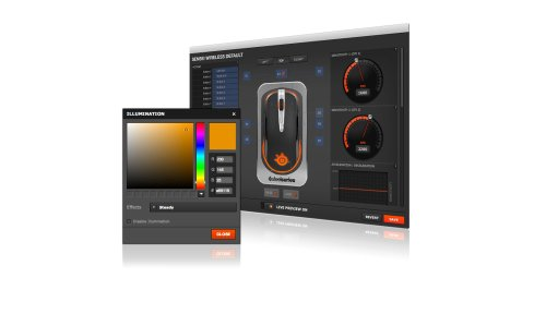 SteelSeries Sensei Wireless Laser-Gaming-Maus (drahtlos, 8 Tasten) schwarz - 9