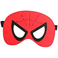 Antifaz mascarilla máscara de fieltro para los ojos - selección de superhéroes diseños - Spiderman,
