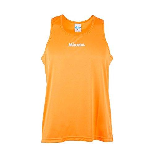 Mikasa Palmas Player Shirt V7 Orange Größe M, MT5007-V7M (Orange Leder-shirt)