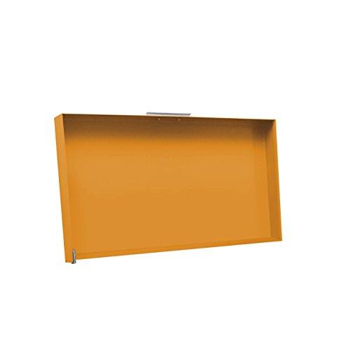 Simogas - CV-Rainbow Orange - Couvercle Acier Orange pour plancha