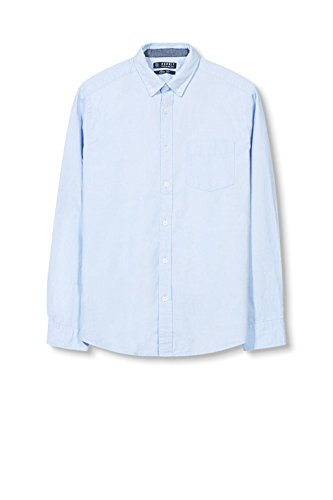 ESPRIT, Camicia Uomo Blu (LIGHT BLUE 440)