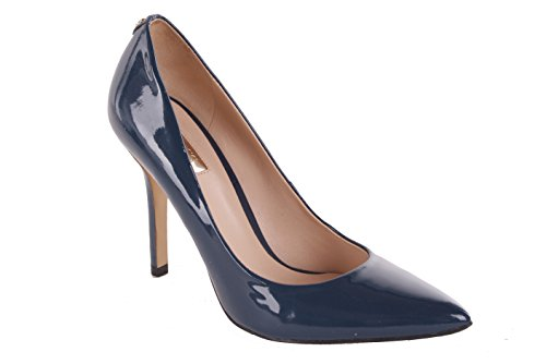 Guess Damen Pumps Highheels Stilettos Blau (39)