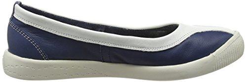 Softinos Iku315sof, Escarpins femme Bleu - Bleu - Bleu marine/blanc