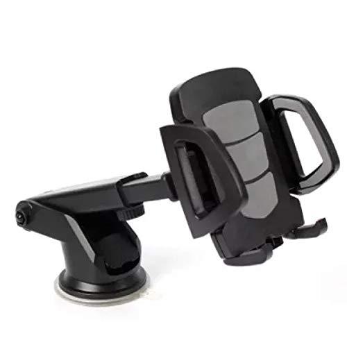 dusg Auto Entlüfter Universal 360 ° drehbare Gelenk Magnetic Smart Car Holder Telefone HalterungAutotelefonhalter mit Langer Saugnapfstange, grau