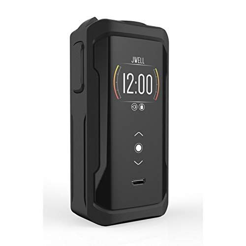 Electronic Zigarette, E MOD JWell Onyx 200W Electronic Cigarette,Ecig Battery with Display Screen,No E Liquid, No Nicotine (Black)