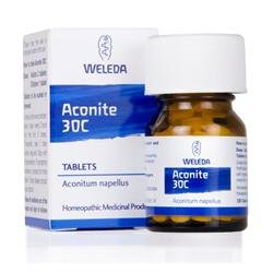 6 Pack of Weleda Aconite 30c 125 Tablet