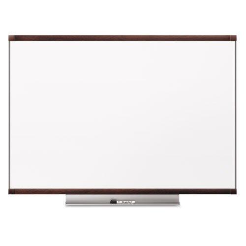 Quartet - Prestige 2 Total Erase Whiteboard, 48 x 36, Mahogany Color Frame TE544MP2 (DMi EA by Quartet