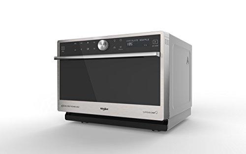 Whirlpool MWP 3391 SX Comptoir Micro-onde combiné 33L 1000W Noir, Gris - Micro-ondes (Comptoir, Micro-onde combiné, 33 L, 1000 W, Rotatif, Tactil, Noir, Gris)