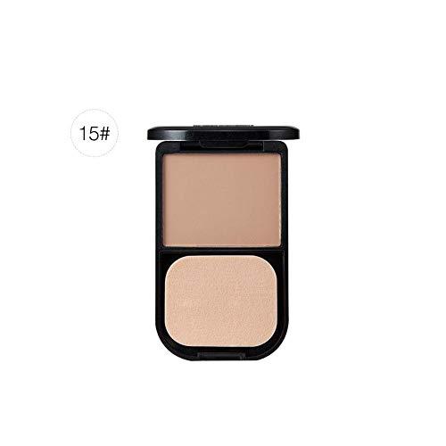 iBaste Grundierung Pressed Powder Oil Control Super mischbar Matte Lose Kompakt Make-Up Gesichtspuder Mineralien Spray Akne Concealer 0,28 Unze -