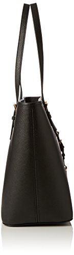 Michael Kors Jet Set Travel Top Zip Borsa Tote, Colore Nero(Black 001), Taglia 33x27x16 cm (B x H x T)