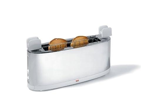 A di Alessi SG68 W Grille pain avec chauffe-croissants
