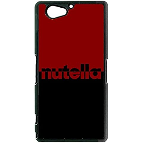 Personalised Custodia Case For Sony Z2 Compact, Nutella Brand Logo Anti Scratch Slim Fit For Sony Xperia Z2 Compact Custodia Case (Only For Sony Z2 Compact)