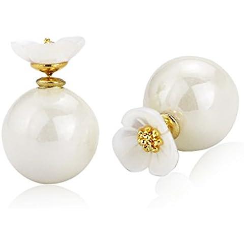 ZWX fiore dolce madre Stud Earrings/Qualità della